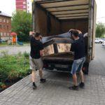 перевозим старый диван