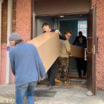 Вынос мебели из офиса при переезде